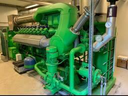 Б/У газовый двигатель Jenbacher J320 GS B05, 1000 Квт, 1996 г.