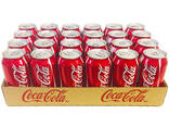 Coca cola soft drink 330 ml / Coca cola 33 cl can - photo 2