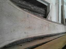 Oak planks not edged, dry - 8%, 50mm 3m 0-1 grade - фото 2
