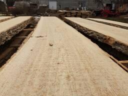 Oak planks not edged, dry - 8%, 50mm 3m 0-1 grade - фото 4