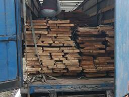 Oak planks not edged, dry - 8%, 50mm 3m 0-1 grade - фото 5