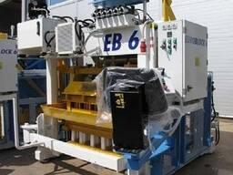 Блок-машина Мобильный для производства бордюров, блоков Е6